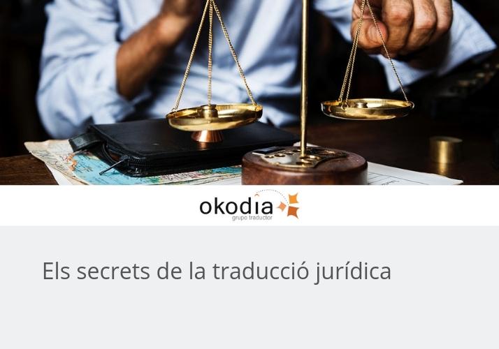 Els secrets de la traducció jurídica